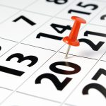 calendar pin